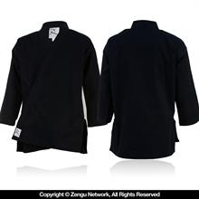 11 oz. Black Heavyweight Karate Jacket